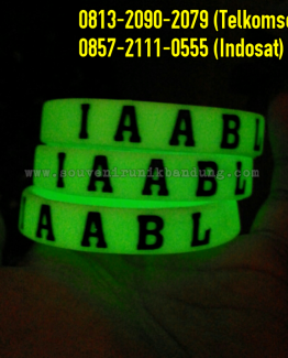 Grosir Gelang Glow In The Dark