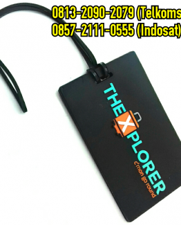 jual luggage tag custom